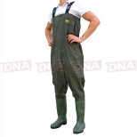 Lineaeffe Green All Weather Waders Full View