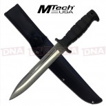 Mtech USA satin Fixed Blade