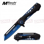 MTech Spring Assisted Extended Cleaver Knife