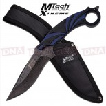 MTech-Xtreme-Scimitar-Fixed-Blade-Knife-Blue