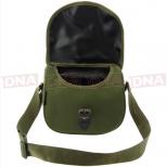 Green-Shotgun-Cartridge-Bag-Front