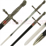Single Straight Assassins Sword of Ojeda with Sheath Main