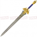 Single Straight Cross Guard Sword Full