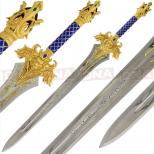 Single Straight Cross Guard Sword Main