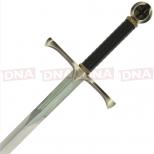 Single Straight Cross Guard Sword Handle