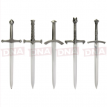 Set of 5 Themed Letter Openers Open