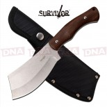 Survivor Extreme Cleaver Fixed Blade
