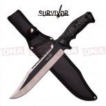 Survivor Powerful Clip Point Knife
