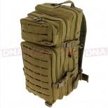 Golan™ 45L 800D Tactical Rucksack - Desert Sandstone Front Alt