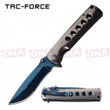 Tac-Force Mirrored Spring Assisted Knife