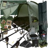 The Legend Complete 3Rod Carp Fishing Set Up Main