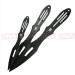 Set of Three Arachnid Throwing Knives