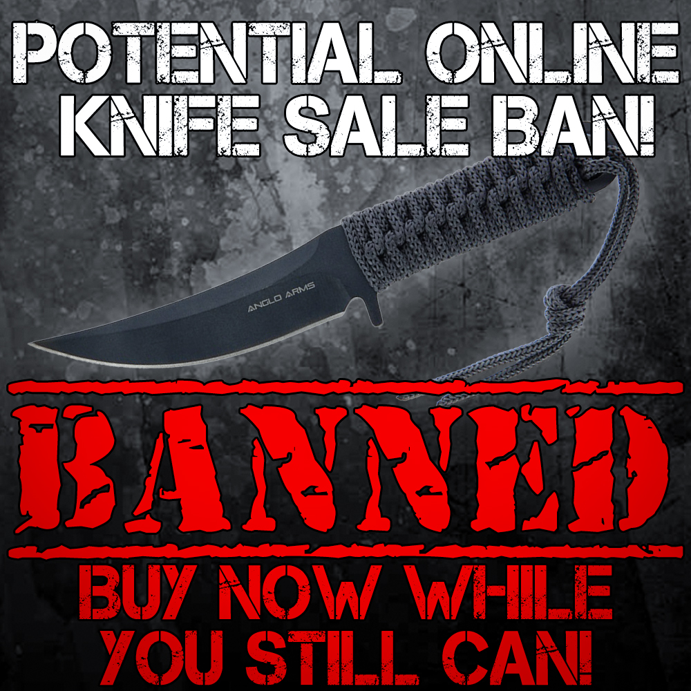 Square Banned Knives Banner